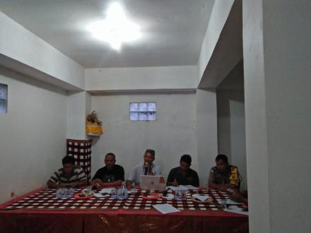 Rapat Pleno Penetapan wilayah Pemilihan BPD dan Tata Cara Pemilihan  BPD Periode 2019-2025
