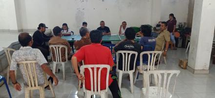 Rapat pembentukan TPK dan Pengadaan Barang/Jasa Desa Banyuseri