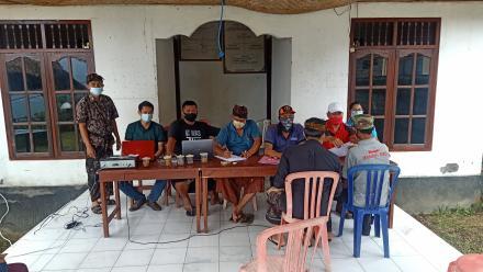 Penyaluran BLT-DD Desa Banyuseri Bulan Januari