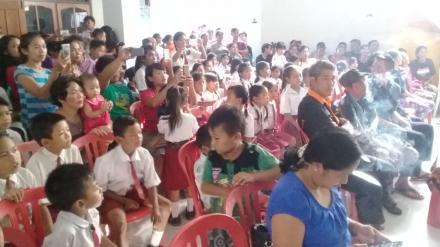 foto kegiatan pelepasan Siswa Kelas VI SD N Banyus