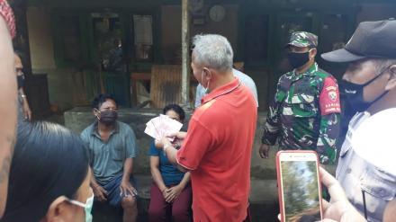 Penyerahan Blt Dana Desa